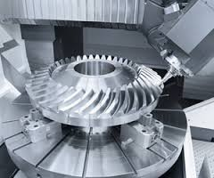 Engrenagem helicoidal cônica