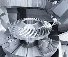 Engrenagens cônicas helicoidais