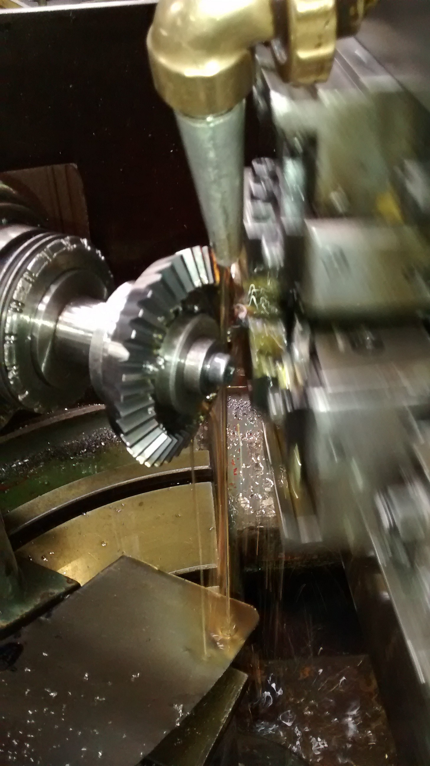 Engrenagens cônicas retas