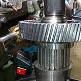 Engrenagem cilíndrica helicoidal