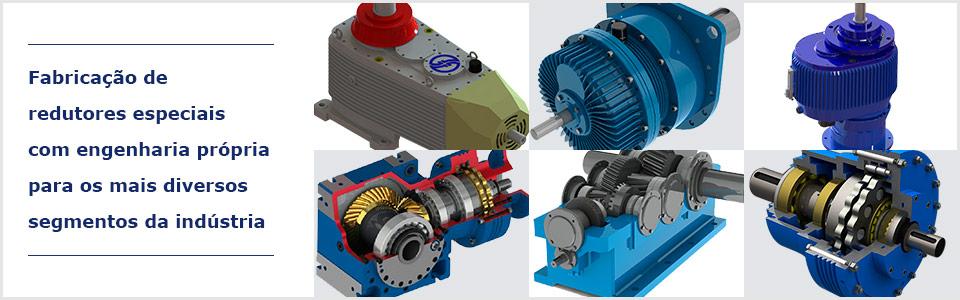 Fabricação de redutores especiais com engenharia própria para os mais diversos segmentos da indústria - Fresadora Sant'ana